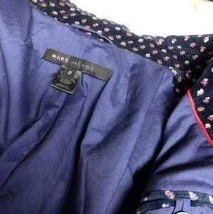 Marc Jacobs Jackets & Coats - Marc Jacobs Floral Velvet Blazer